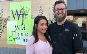 Maria & Travis Beckett - Owners, Wild Thyme Catering