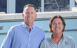 "Bruce ""Boo"" MacIntyre and Brian Cunningham  - Owners, Vero Marine Center"