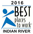 2016 Best Places to work in Indian River County - Logo