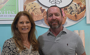 Julie and Jeff Denning Owners, Kilwins Original Recipe Ice Cream