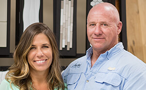 Amy and Ken Flickinger - Owners, Surfaces Fine Flooring
