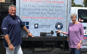 Paul and Eraina Engel - Owners. Gulfstream Hardscape and Pavers, LLC